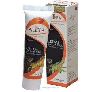 ALIEFA CREAM ZAITUN PLUS (Turtle Oil dan Vitamin – E)
